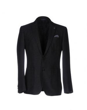 Пиджак FORECAST. Цвет: темно-синий