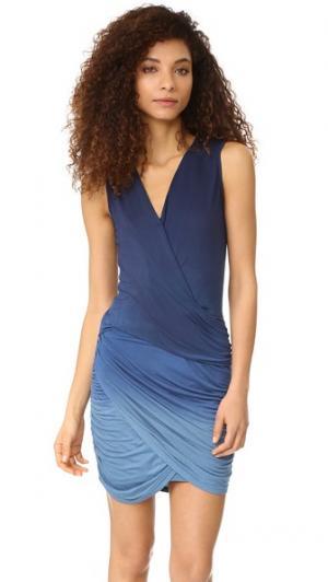 Платье Cadler Young Fabulous & Broke. Цвет: сумерки с эффектом «омбре»