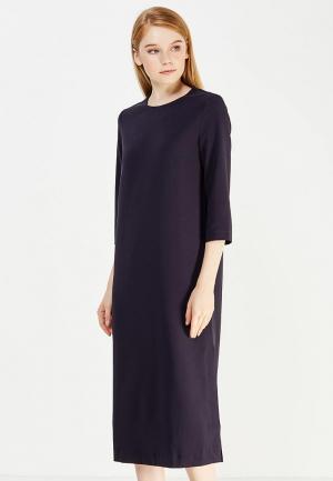 Платье Emka. Цвет: синий