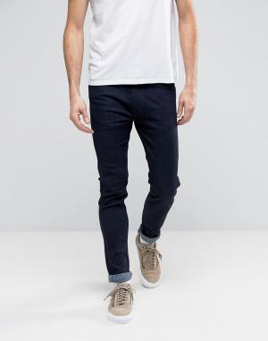 Levis Line 8 Зауженные джинсы стретч цвета индиго RFP. Цвет: темно-синий