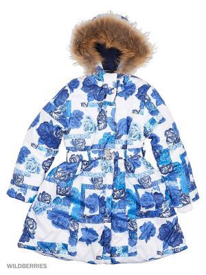 Пальто batik. Цвет: синий