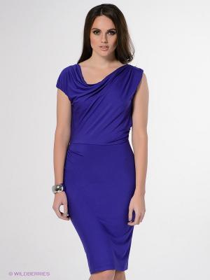 Платье Stefanel. Цвет: фиолетовый