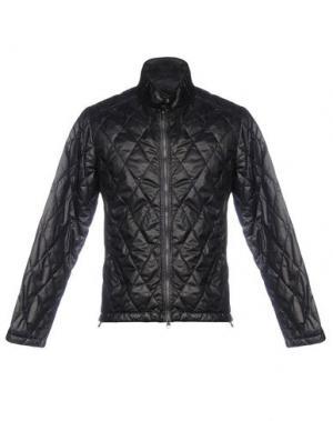Куртка ADHOC. Цвет: темно-коричневый