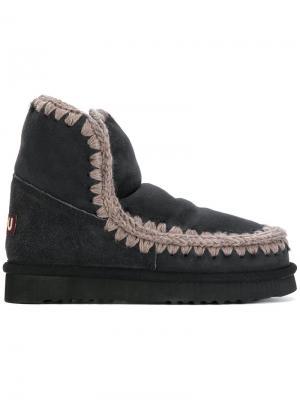 Зимние ботинки Eskimo 18 Mou. Цвет: чёрный