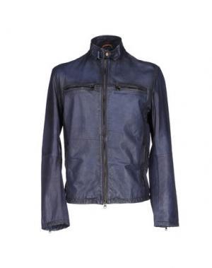 Куртка D'AMICO. Цвет: грифельно-синий