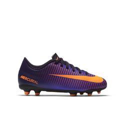 Футбольные бутсы для игры на твердом грунте школьников  Jr. Mercurial Vortex III (1Y–6Y) Nike. Цвет: пурпурный