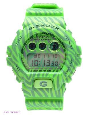 Часы G-SHOCK DW-6900ZB-3E CASIO. Цвет: зеленый