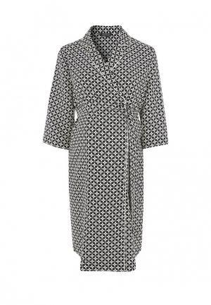 Платье Topshop Maternity. Цвет: черно-белый