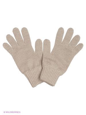 Перчатки R&I. Цвет: светло-бежевый
