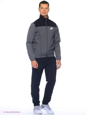 Спортивный костюм M NSW TRK SUIT WVN  PACIFIC Nike. Цвет: черный, серый