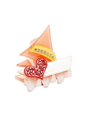 Заколки Kameo-bis. Цвет: белый, красный, розовый