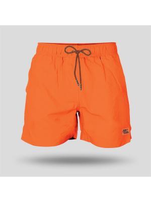 Шорты Пляжные JOHN FRANK. Цвет: оранжевый