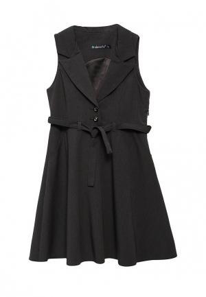 Платье Cleverly. Цвет: серый