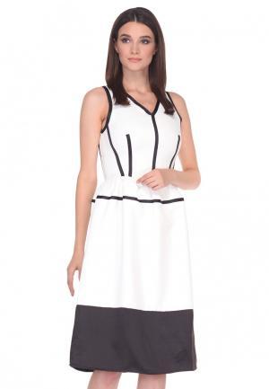 Платье Cavo. Цвет: белый