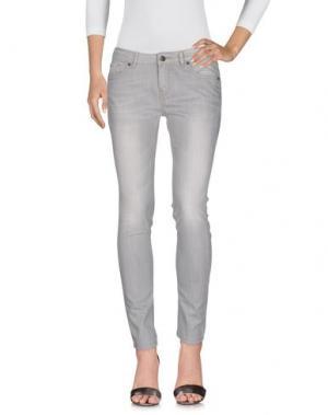Джинсовые брюки I BLUES CLUB. Цвет: серый
