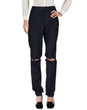 Повседневные брюки AALTO. Цвет: темно-синий