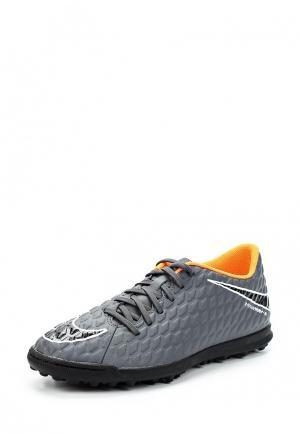 Шиповки Nike. Цвет: серый