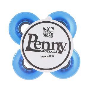Колеса для скейтборда лонгборда  Trans Wheels Blue 59mm 79А Penny. Цвет: синий