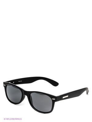 Солнцезащитные очки Mascotte. Цвет: черный
