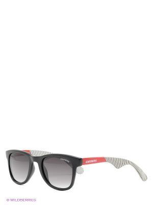 Солнцезащитные очки CARRERA. Цвет: черный, красный