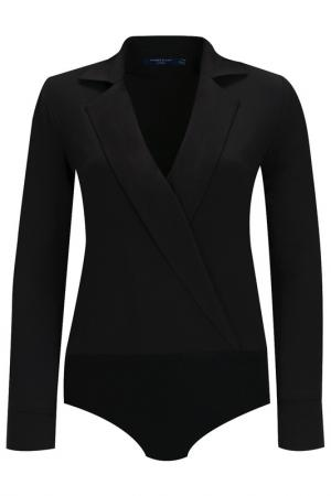 Блуза-боди Audrey Right. Цвет: черный