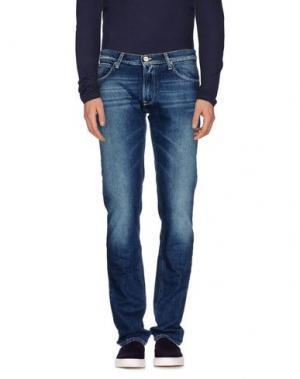 Джинсовые брюки IT'S MET. Цвет: синий