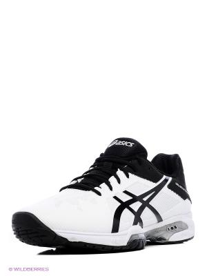 Спортивная обувь GEL-SOLUTION SPEED 3 ASICS. Цвет: белый, черный