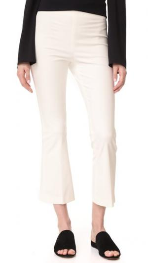 Расклешенные брюки Ernestina B Theory. Цвет: новая слоновая кость