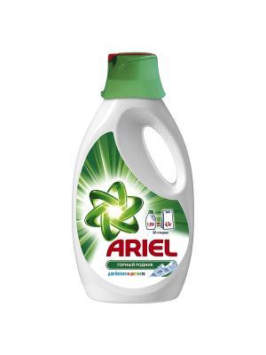 Жидкий стиральный порошок Горный родник 1.95л Ariel. Цвет: зеленый, белый