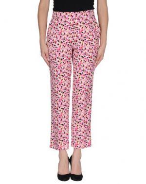 Повседневные брюки MILA SCHÖN. Цвет: розовый