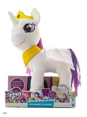 Плюшевые пони с крыльями My Little Pony. Цвет: белый