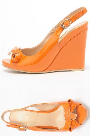 Босоножки SP. Цвет: оранжевый
