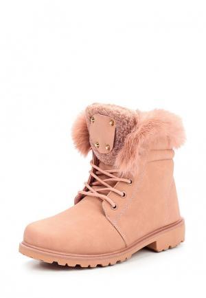 Ботинки Mixfeel. Цвет: розовый