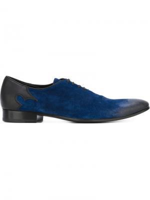 Туфли на шнуровке Haider Ackermann. Цвет: синий