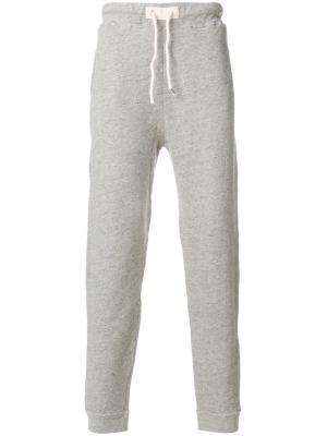 Классические спортивные брюки Bellerose. Цвет: серый