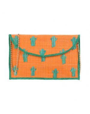 Сумка на руку KAYU. Цвет: оранжевый