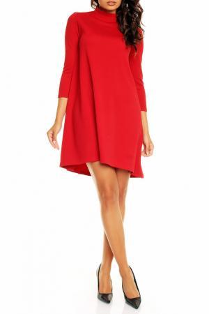 Платье NOMMO. Цвет: красный