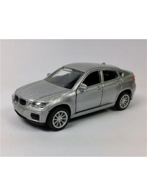 Машинка инерционная Азбука Тойс. Цвет: серый