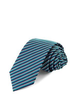 Галстук CASINO. Цвет: синий, бирюзовый