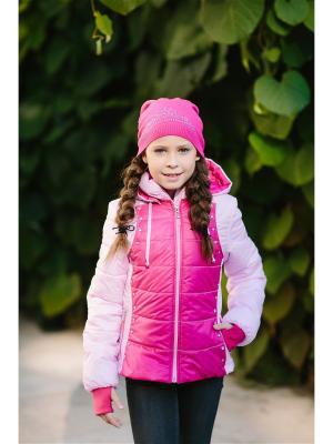 Куртка DUWALI. Цвет: розовый
