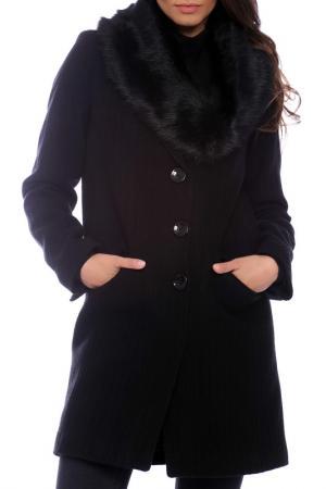 Пальто Emma Monti. Цвет: черный