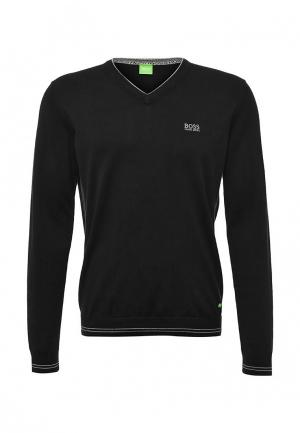 Пуловер Boss Green. Цвет: синий