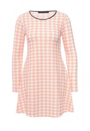 Платье Edge Street. Цвет: розовый