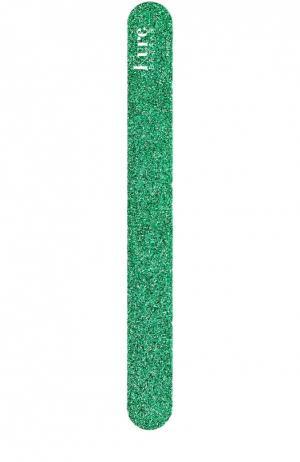 Пилка для ногтей зеленая Kure Bazaar. Цвет: бесцветный