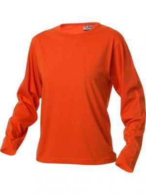 Лонгслив Clique. Цвет: оранжевый