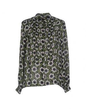 Pубашка ORLA KIELY. Цвет: темно-синий