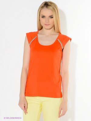 Футболка American Outfitters. Цвет: оранжевый