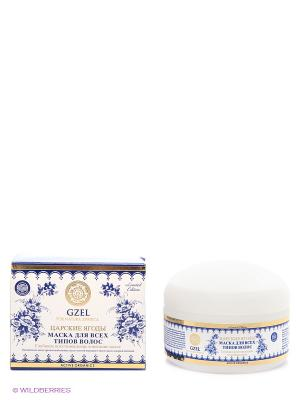 Маска для всех типов волос Царские ягоды Natura Siberica. Цвет: белый, синий