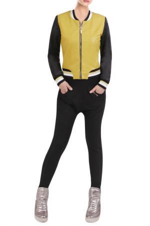 Куртка JUNONA. Цвет: yellow