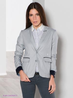 Пиджак G-STAR RAW. Цвет: серо-голубой, черный